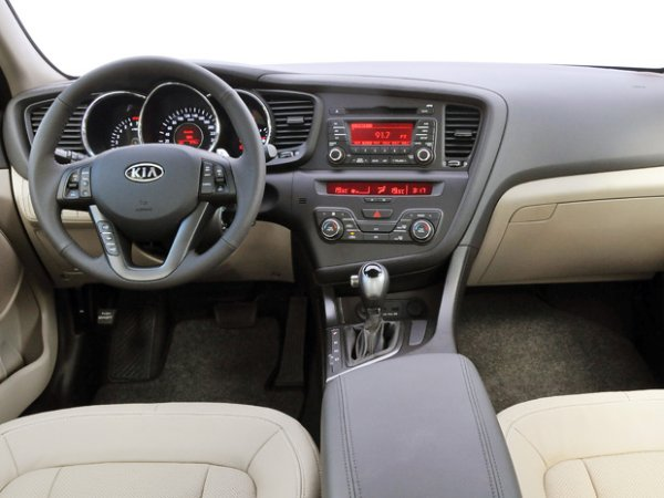Interior Kia Optima