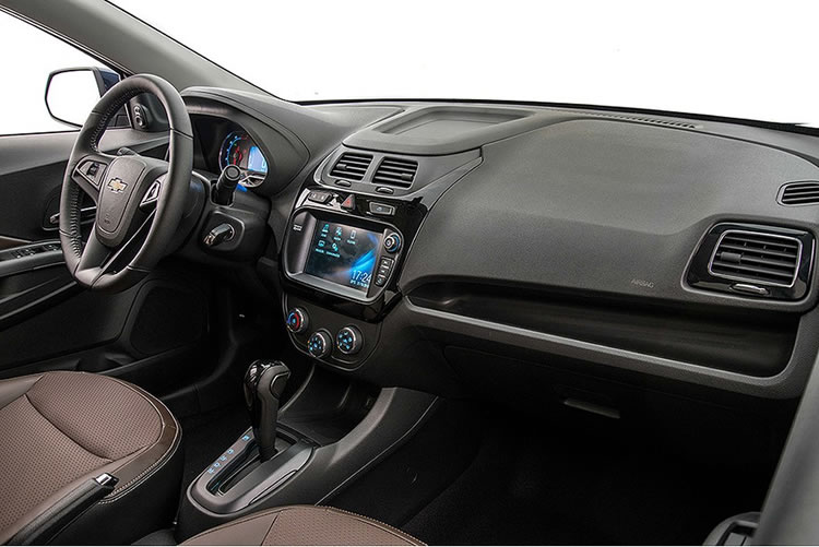 Interior do novo Cobalt