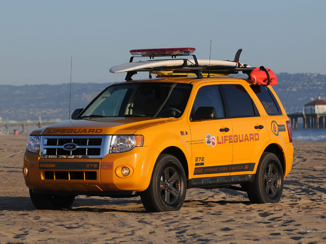 Escape Hybrid Lifeguard Vehicle